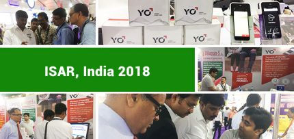 India Society for Assisted Reproduction conference in Calcutta, India. MES and YO Sperm Test exhibit